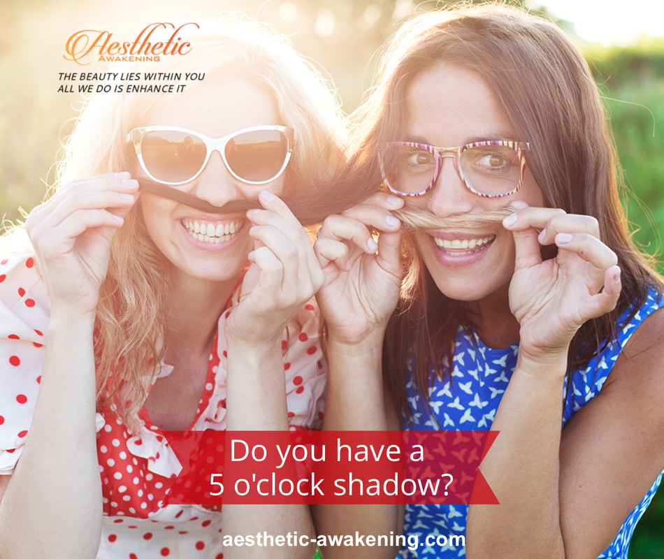 Do you have a 5 o'clock shadow?